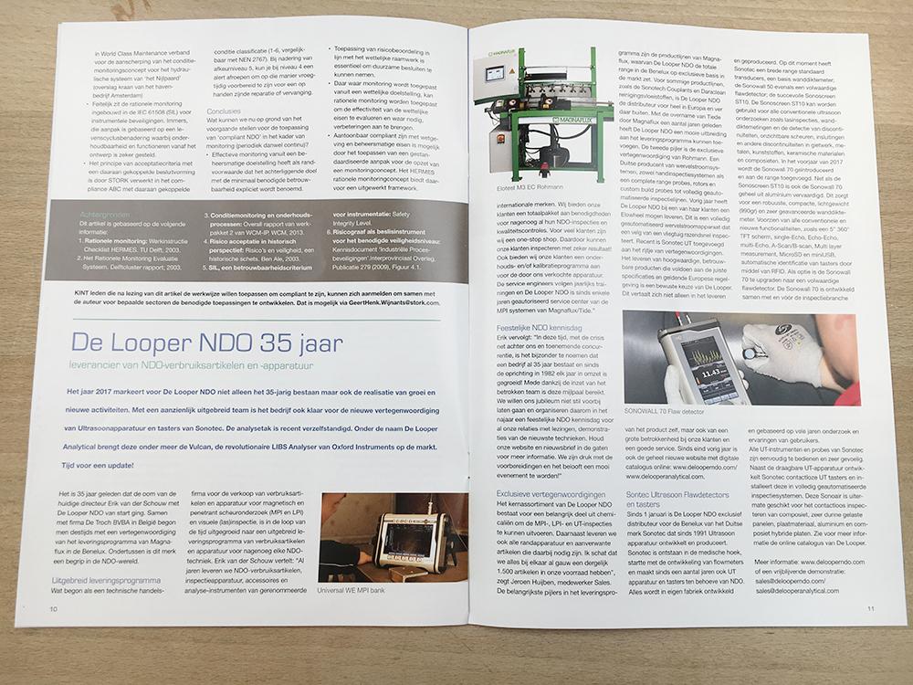 De Looper NDO in het KINT magazine!