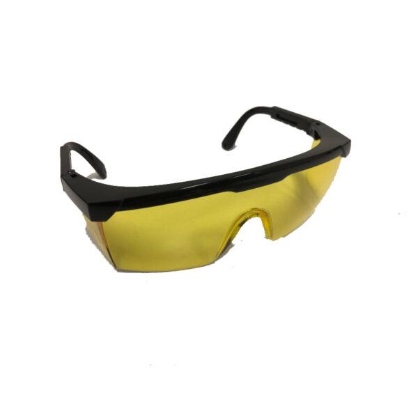 Overzetbril geel - UV onderzoek